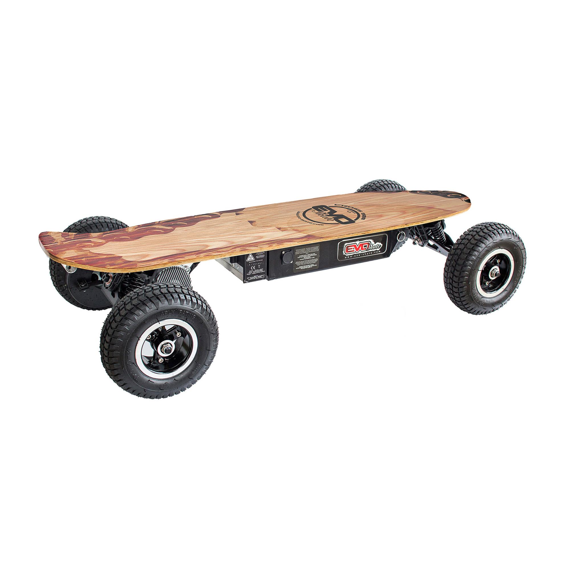 skate lectrique tout terrain cross800 chain v3. Black Bedroom Furniture Sets. Home Design Ideas