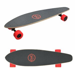 Evo-LSC is an electric and lightweight longboard, ideal for smooth cruising. With its progressive acceleration and its wheels of 90mm, it will allow you to discover an easy and safe electric skateboard.