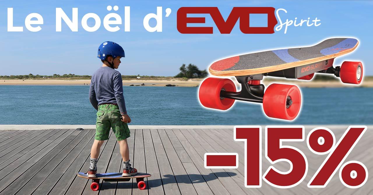 promo skate électrique noel