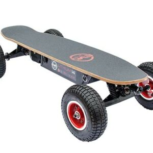 Skate électrique tout terrain – Cross 1000 v4 Le modèle tout terrain de la gamme, avec 4 modes de vitesses il conviendra aussi bien aux débutants qu'aux riders expérimentés