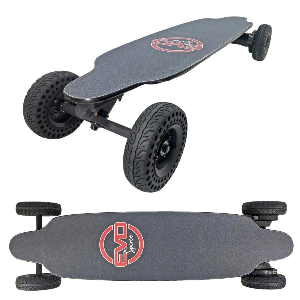 Switcher V1 skate électrique convertible tout terrain et longboard