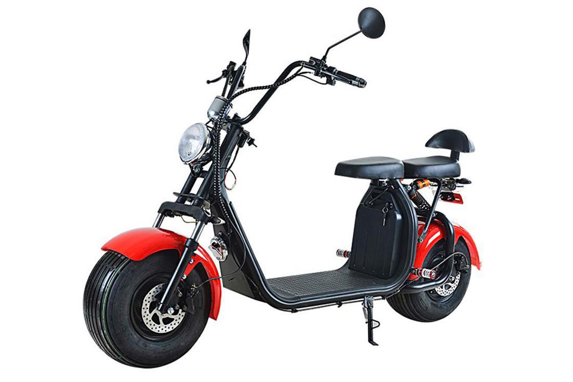 scooter-électrique-FATSCOOT-homologué-route