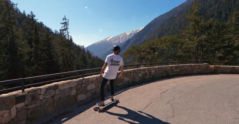 Skate-electrique-longboard-curve-V3-evo-spirit - Green-wheels _ gomovieprod