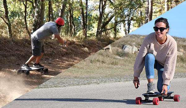 Evo-spirit skate et trottinette électrique