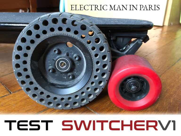 TEST-Switcher-V1-par-electricmaninparis-skate-électrique-tout-terrain-longboard