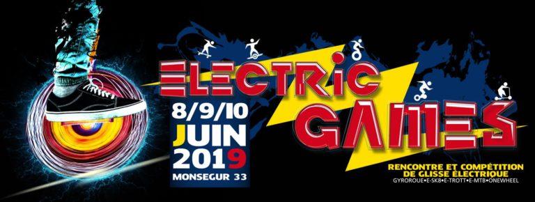 electric games 2019 evo-spirit skate électrique gyroroue e-sk8 e-trott e-mtb onewheel
