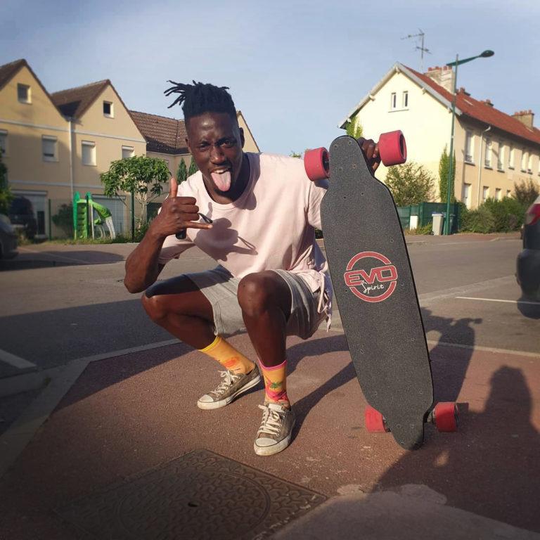 skate électrique longboard