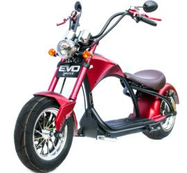 Chopper électrique moto scooter evo-spirit