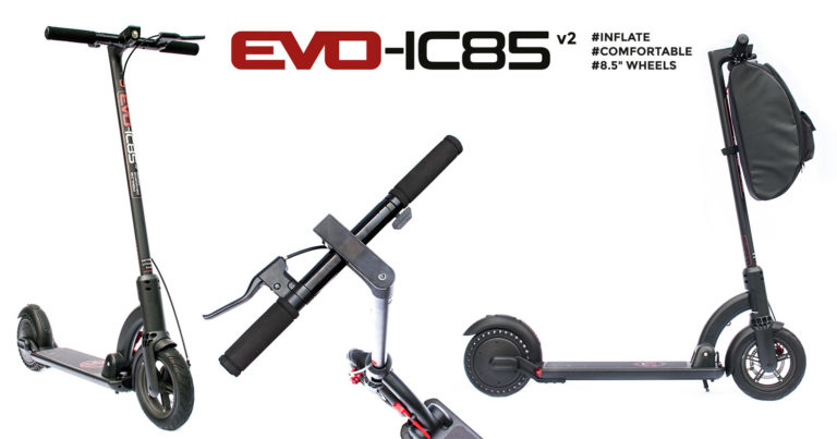 Nouvelle-version-de-la-trottinette-électrique-Evo-IC85-en-V2