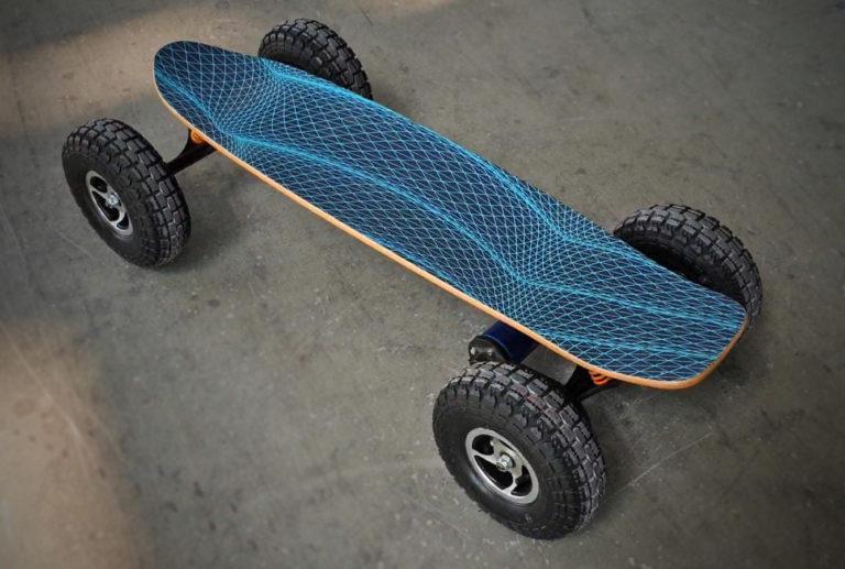 Evo-spirit skate électrique tout terrain Cross