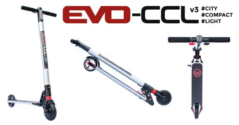 trottinette électrique légère et compacte Evo-CCLv3