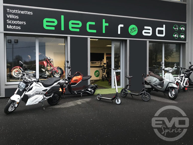 ELECT'ROAD est votre spécialiste de la mobilité électrique à Nantes depuis plus de 10 ans. Vous découvrirez les meilleurs engins électriques, silencieux et non polluants. TROTTINETTES - VÉLOS - SCOOTERS - MOTOS