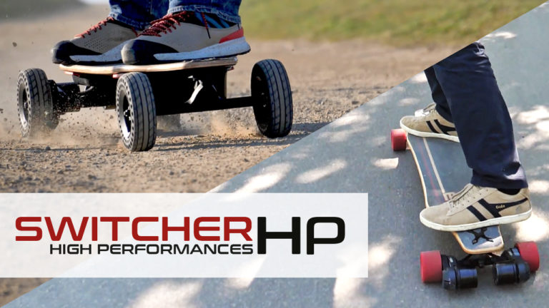 Skate-electric-Convertible-tout-terrain-cross-longboard-switcher-HP-hautes-performances-