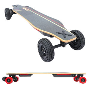Skate-electrique-Convertible-tout-terrain-cross-longboard-switcher-HP-hautes-performances-cross