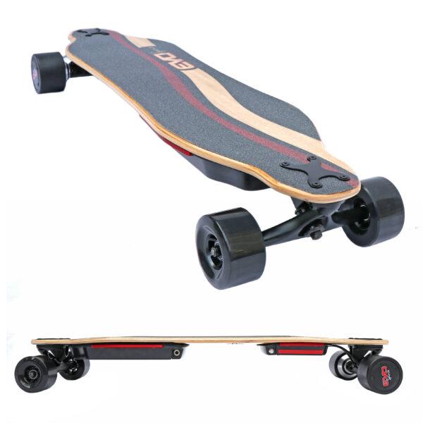 Skate-electrique-Longboard-puissant-double-moteur-flex-batterie-amovible-