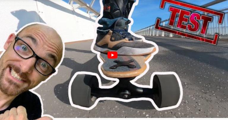 Le Vlogger Electron test le longboard électrique : Curve v4