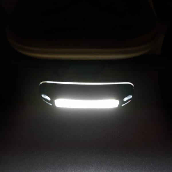 Kit de 2 lumières avant et arrière rechargeable Pour skates et trottinettes électriques (1)