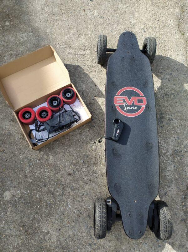 skate électrique Switcher v1 batterie 10.5ah made in France (1)