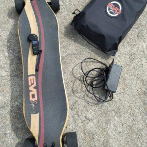 Skate électrique longboard occasion curve v4