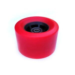 Roue rouge 83mm dureté 80A (1 roue) sakte electrique longboard curve v4